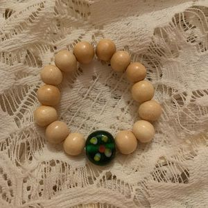 Kids Wood Bead Bracelet